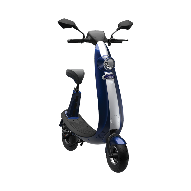 Ojo Commuter Scooter Blue Stripe