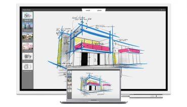 Interactive Digital Whiteboard Memudahkan Kolaborasi dan Brainstorming saat Meeting Kantor