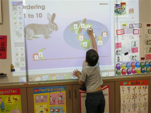proyektor interactive