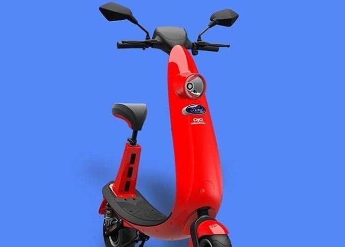 Electric Scooter Ojo, Kendaraan Terkecil Berlambang Ford