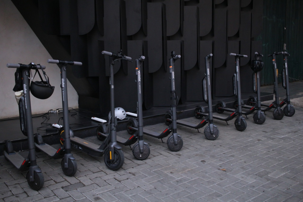Komunitas scooter electric MEV 03 alt
