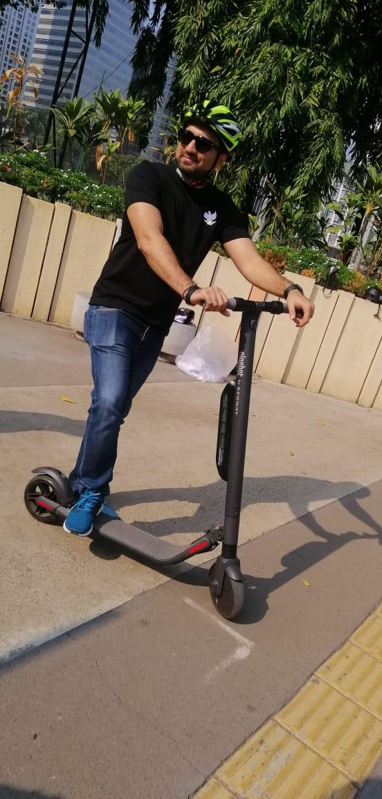 Komunitas scooter electric MEV 02 alt