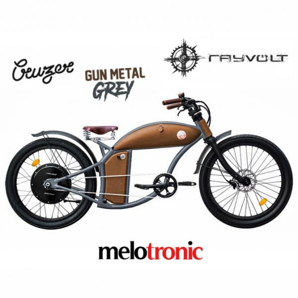 Rayvolt Gun Metal Grey
