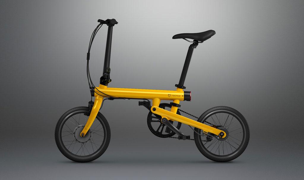sepeda listrik lipat qicycle