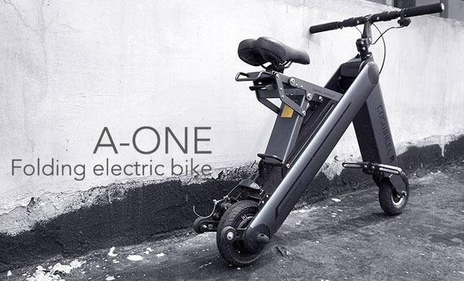 coswheel a-one electric folding bike